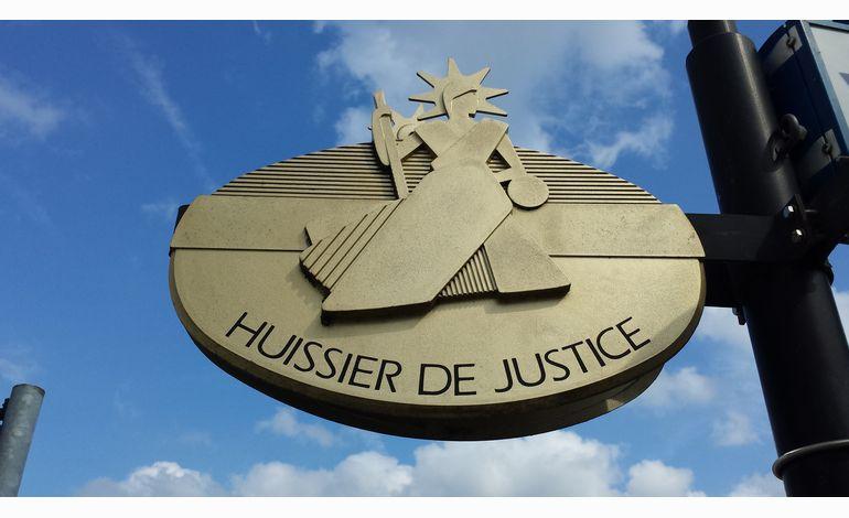 4000 huissiers de justice dont plus de 100 bas normands ont manifest ce lundi paris - Chambre des huissiers de justice de paris ...
