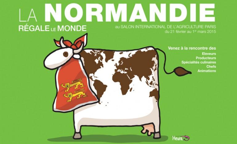 La normandie unie au salon de l 39 agriculture 2015 for Salon de l agriculture 2015