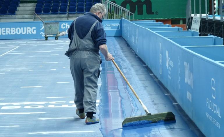 Le Challenger de tennis 2015 se prépare [VIDEO]