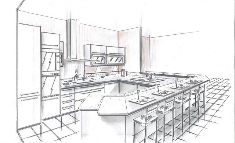 Un ancien cuisiniste dessine pour concevoir votre intérieur