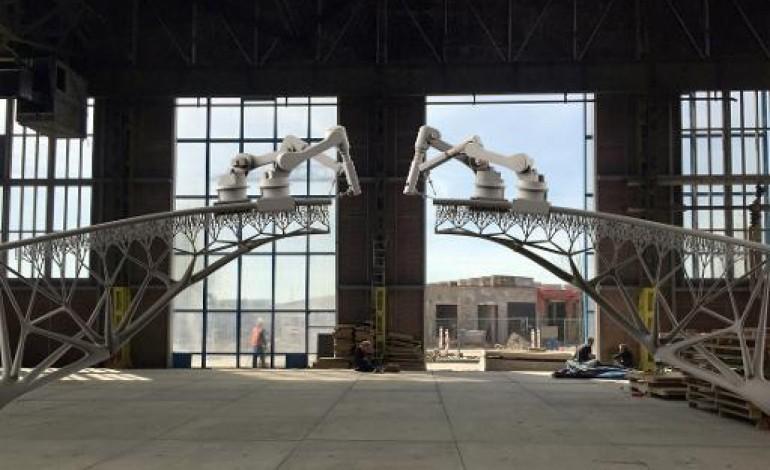 Pays-Bas: une start-up veut construire le 1er pont imprimé en 3D