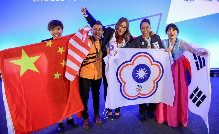 Olympiade internationale des métiers : la Bas-Normande Justine Gaubert médaillée d'argent