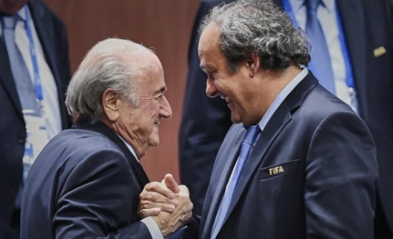Fifa: paiements à Platini, une rétribution justifiée (avocats Blatter)
