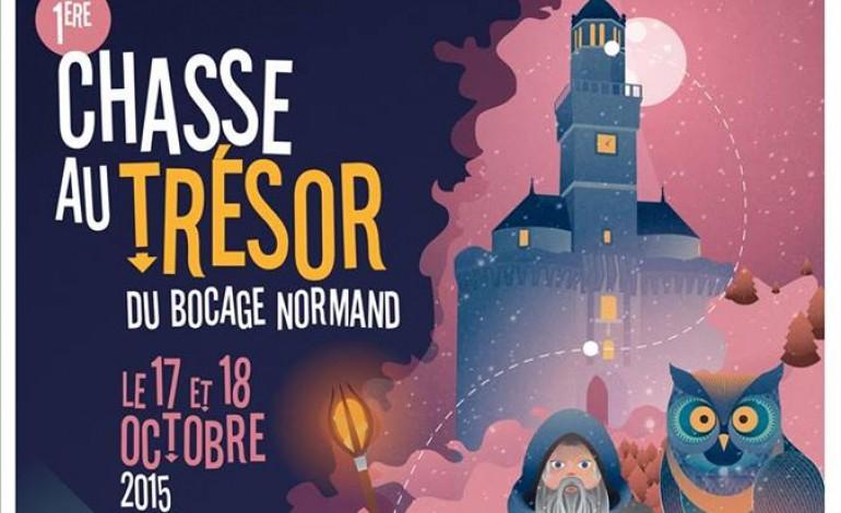 Du 17 au 18 Octobre, participez à La 1ère Chasse au trésor du Bocage Normand