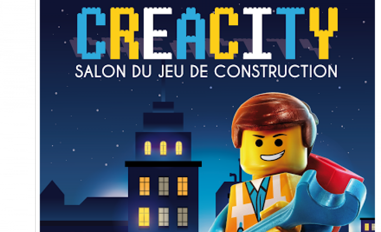 Creacity, le salon du jeu de construction à La Glacerie
