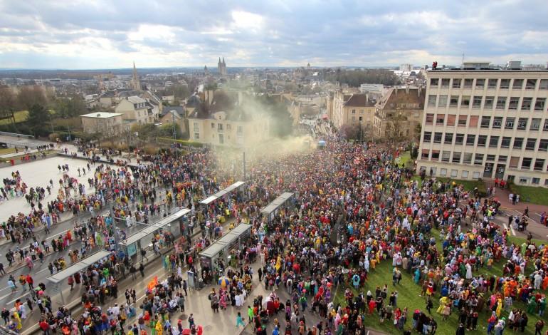 Carnaval étudiant de Caen : c'est parti (Photos et vidéo)