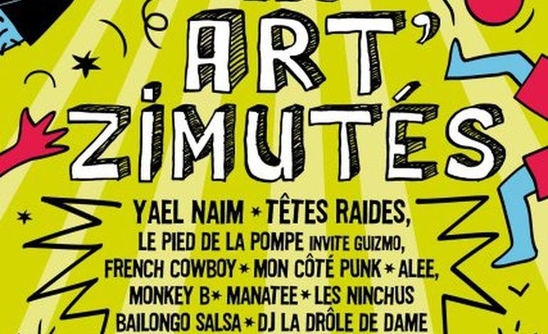 Les Art'zimutés démarrent demain à Tourlaville!