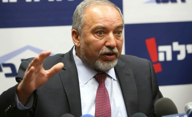 Israël: accord pour faire entrer l'ultranationaliste Lieberman au gouvernement