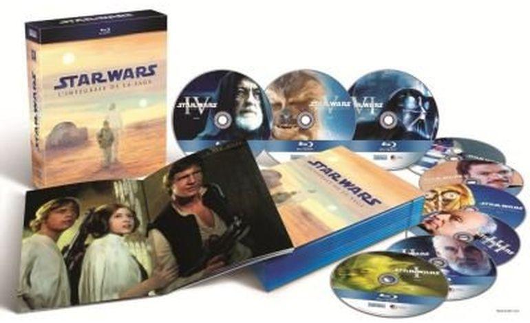 Star Wars en Haute-Definition grâce au Blu-Ray