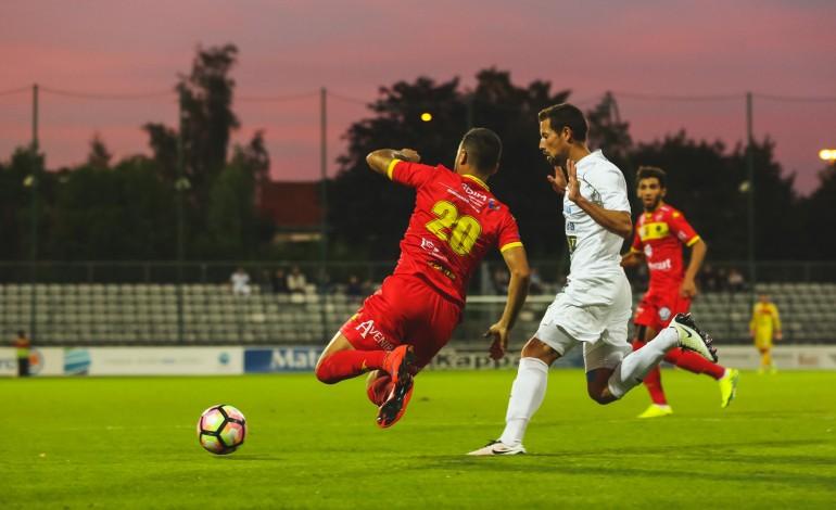 Football : lourde défaite pour Quevilly Rouen Métropole face à Concarneau
