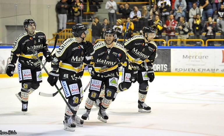 Hockey : le premier derby Rouen - Amiens pour les Dragons