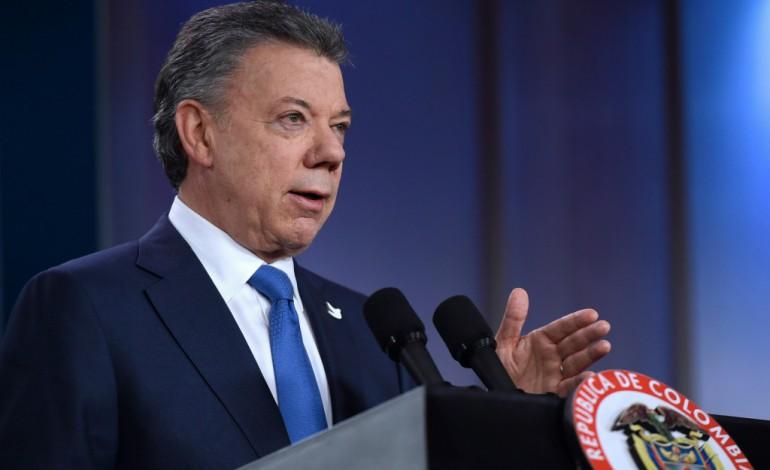 Le Nobel de la paix au président colombien Santos