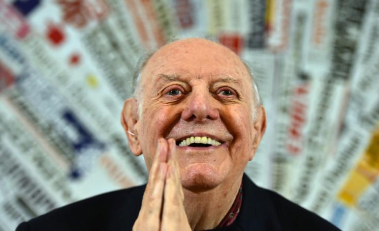 L'Italien Dario Fo, prix Nobel de littérature en 1997, est décédé