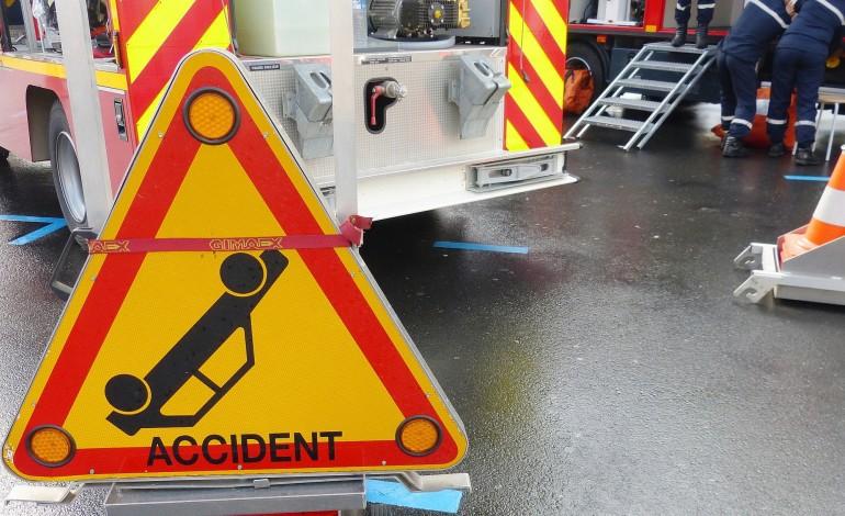 Manche : trois blessés, dont deux graves, dans deux accidents de la route