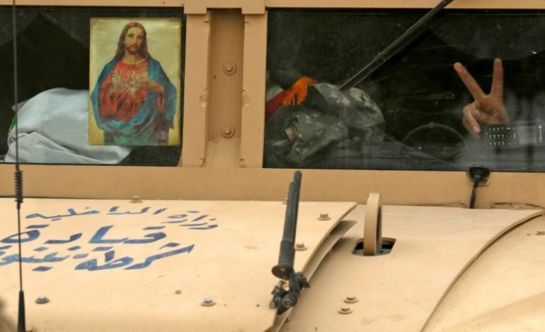 """La coalition annonce une """"pause"""" des forces irakiennes dans l'offensive sur Mossoul"""