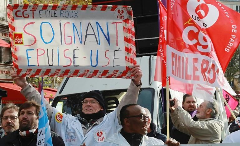Infirmiers et aide-soignants dénoncent les cadences infernales