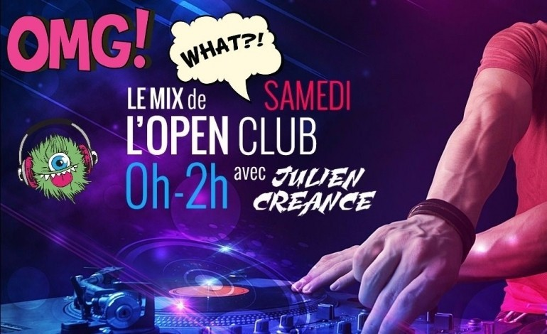 Replay: Le Mix de l'Open Club samedi 26 novembre