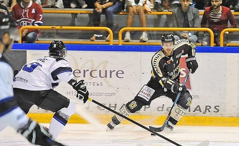Hockey sur glace: les Dragons de Rouen laissent filer la première place