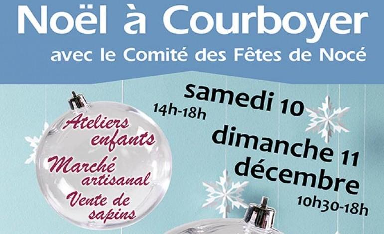 Noël à Courboyer samedi 10 et dimanche 11 décembre