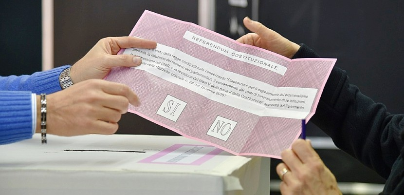 Les Italiens rejettent massivement la réforme de Matteo Renzi