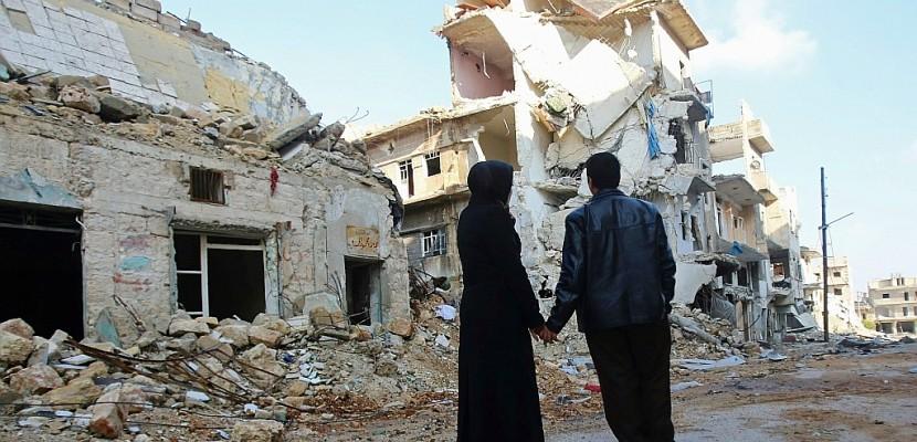Le rêve brisé de Syriens d'Alep qui espèrent retrouver leur maison