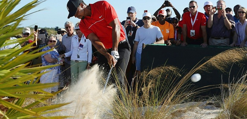 "Golf: Tiger Woods, la longue et lente reconstruction du ""Tigre"""