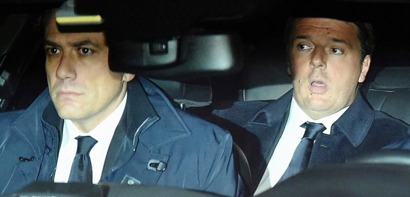 Italie: Matteo Renzi à la présidence pour présenter sa démission