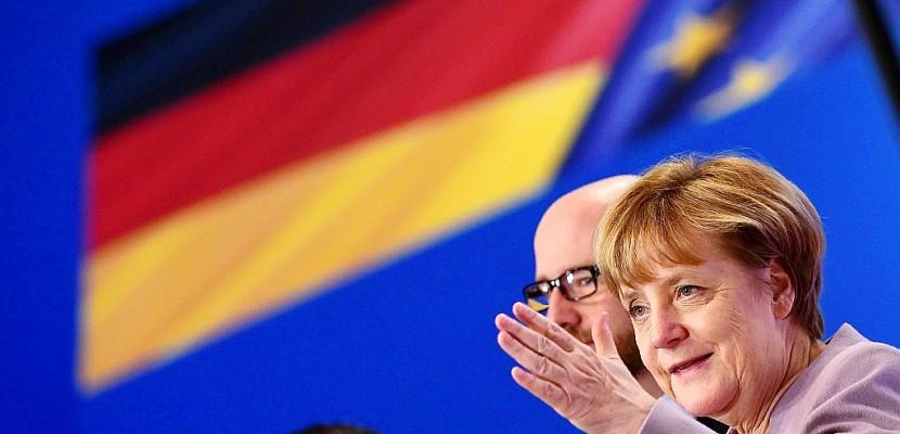 Merkel lance son parti dans la bataille des élections de 2017