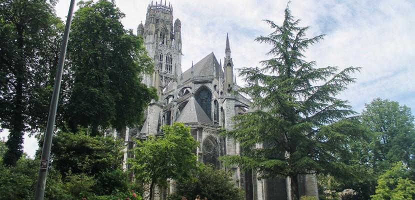 Érables du Japon, hortensias blancs…À Rouen, les jardins de l'hôtel de ville font peau neuve