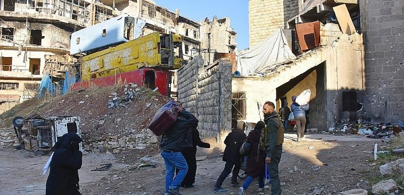 "Alep: appel de six capitales à un ""cessez-le-feu immédiat"""
