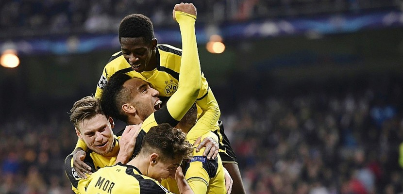 Ligue des champions: Dortmund neutralise le Real, qui finit 2e malgré un record