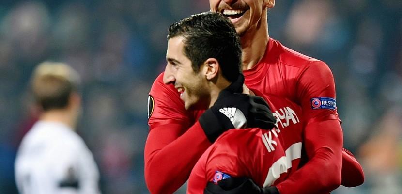 Europa League: Manchester United en 16e malgré des débuts difficiles