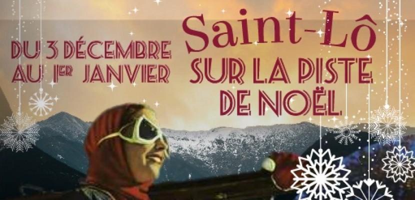 Saint Lô sur la piste de Noël