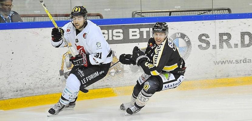 Hockey-sur-glace: jour de derby entre les Dragons de Rouen et les Gothiques d'Amiens