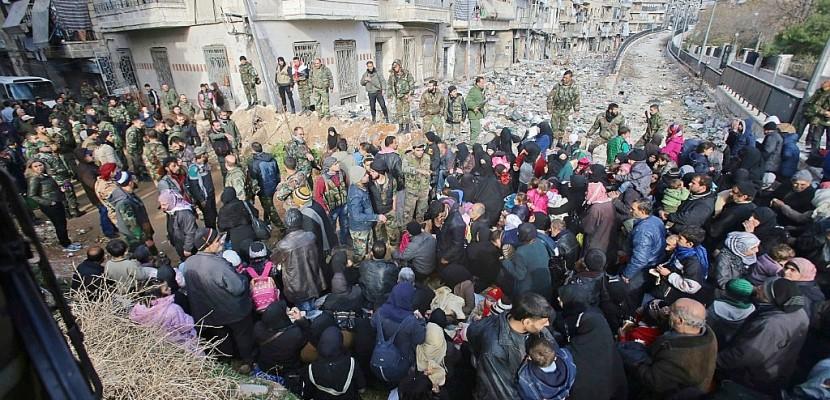 La Russie intraitable sur le départ des rebelles d'Alep