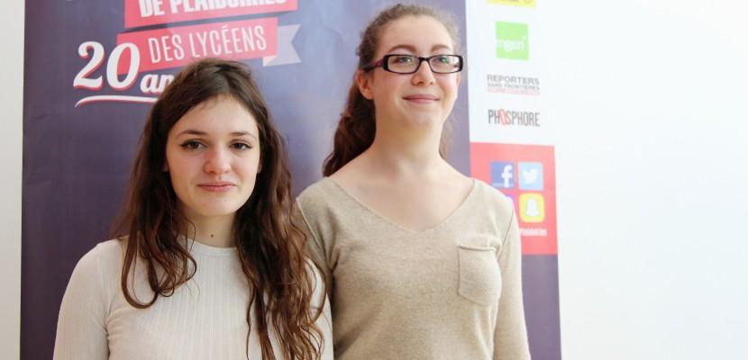 Deux Caennaises remportent la finale normande du concours de plaidoiries des lycéens