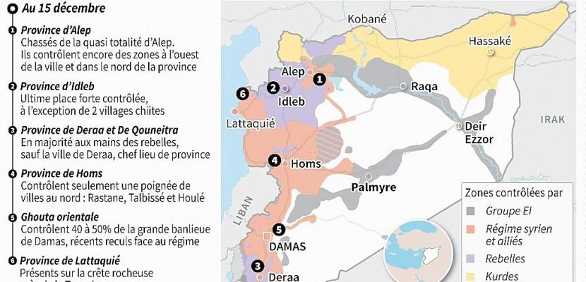 Idleb, dernière grande place forte de la rébellion en Syrie