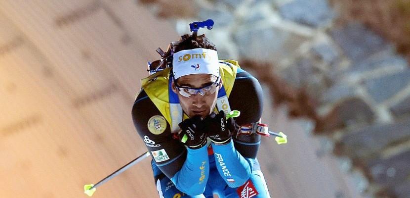 Biathlon: Martin Fourcade remporte la poursuite de Nove Mesto