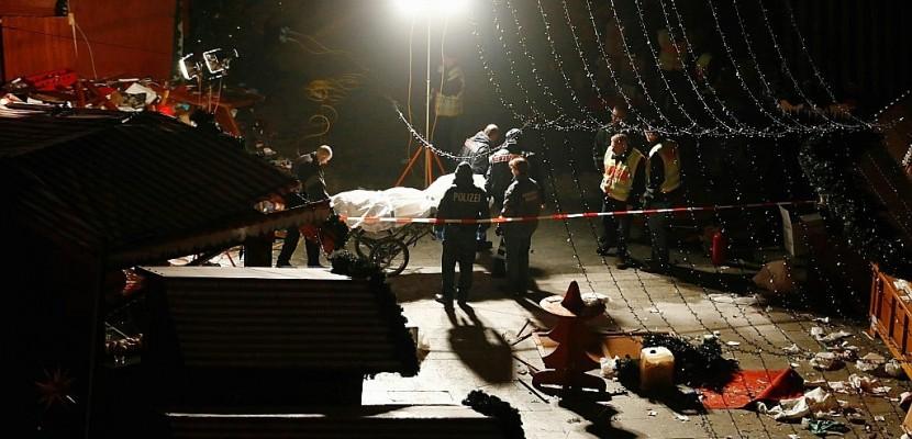 Douze morts sur un marché Noël de Berlin : ce que l'on sait