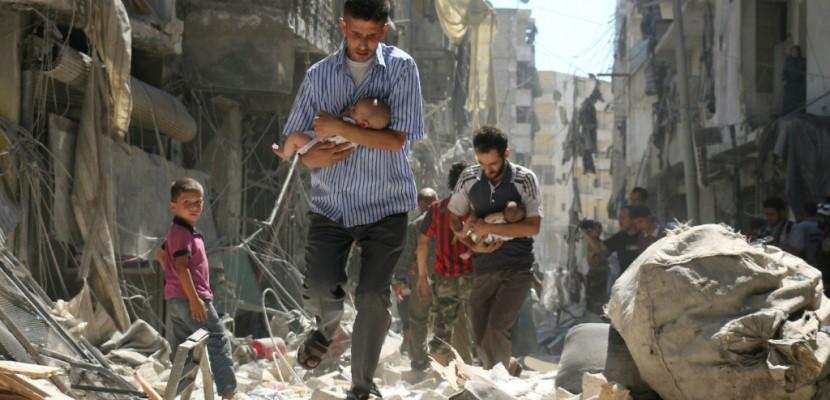 Alep reprise par le régime, l'EI avance ses pions