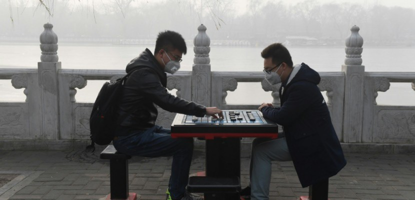"""Airpocalypse"": Pékin entame 2017 sous un épais brouillard polluant"