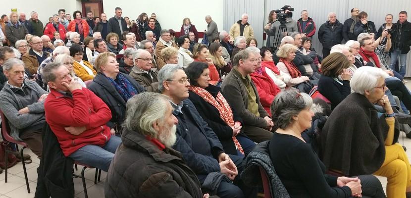 GDE à Nonant le Pin: deux cents opposants fêtent la victoire définitive