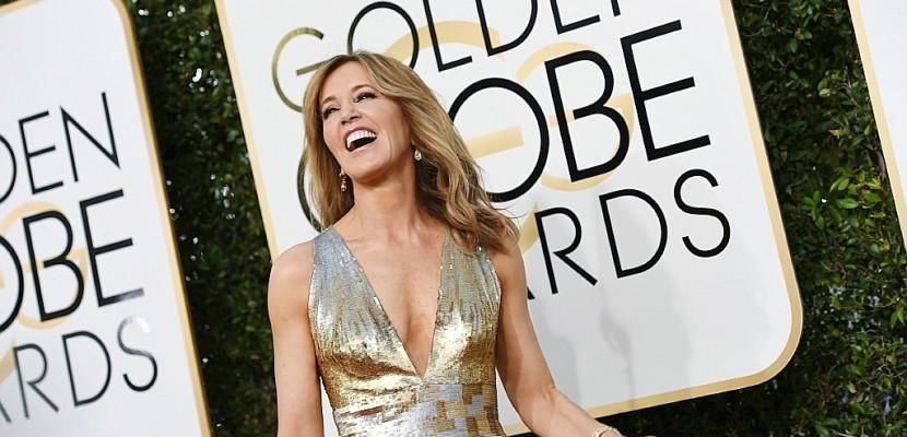 Défilé de stars sur le tapis rouge des Golden Globes