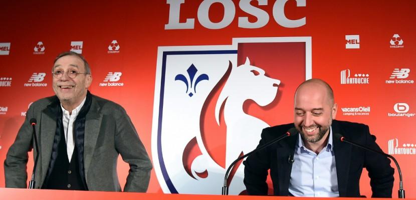"""Lille: """"objectif au delà de 18 mois, jouer le Top 3"""", annonce Lopez"""