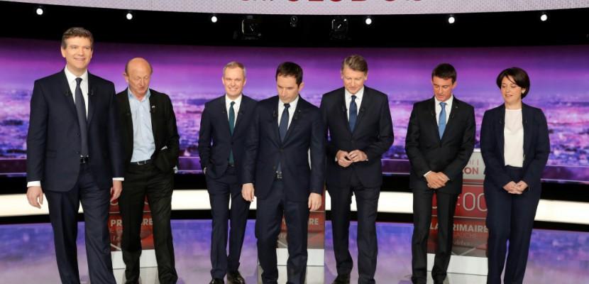 Primaire PS: audience divisée par deux pour le deuxième débat