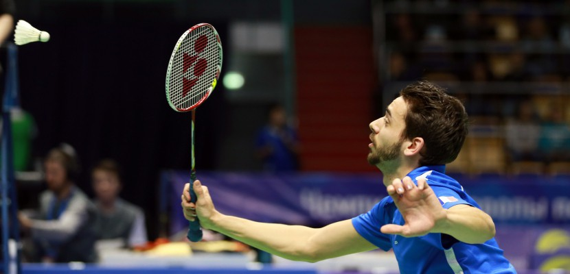 Badminton : Julien Maio, joueur de Maromme-Déville, s'impose en double à l'open d'Estonie