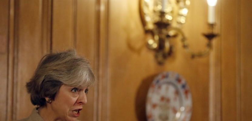 GB: Theresa May dévoile sa feuille de route pour le Brexit