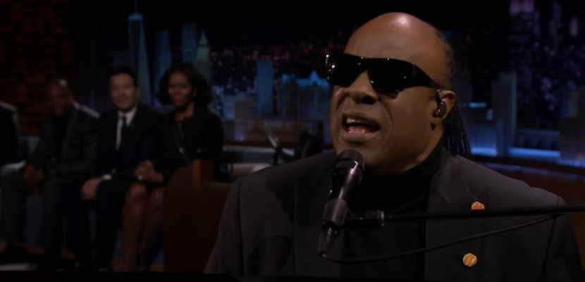 L'hommage soul de Stevie Wonder à Michelle Obama