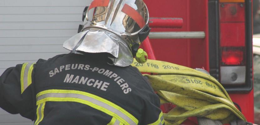Manche : un incendie en pleine nuit, près de Saint-Hilaire-du-Harcouet