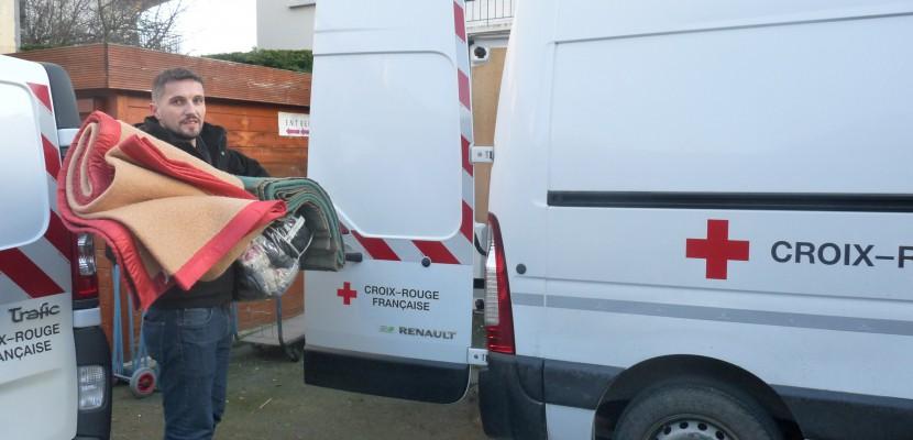 Les bénévoles de la Croix Rouge mobilisés pour les sans-abri